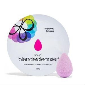 3/20💘BeautyBlender Micro.Mini + Cleanser Packette